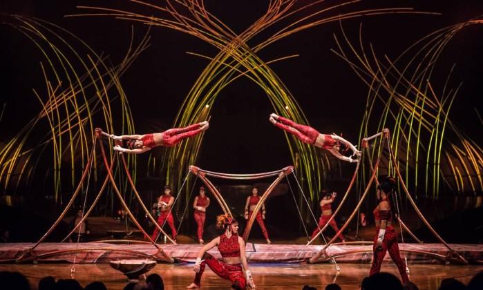 Cirque du Soleil - Foto divulgação