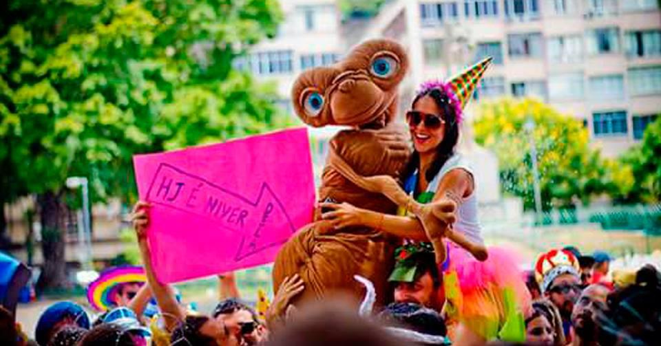 Carnaval - Bloco Vamo ET - foto divulgação